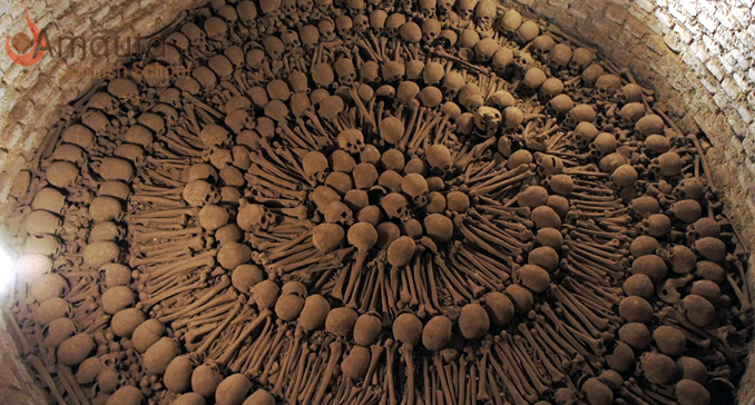 The Ossuary in the San Francisco Church
