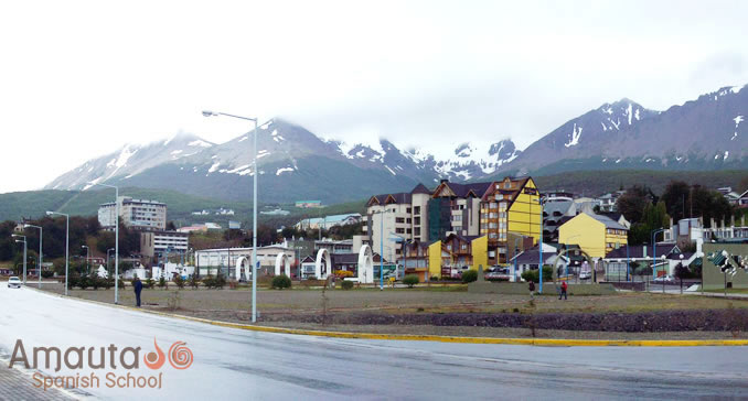 Ushuaia, the capital of Tierra del Fuego