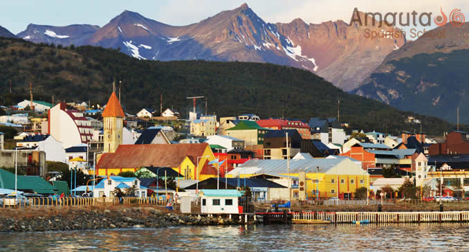Ushuaia, a city in Argentina with almost 60000 inhabitants