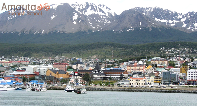 Stunning landscapes in Ushuaia