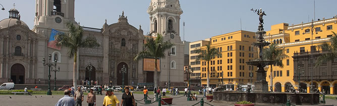 Cities of Peru