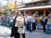 An impressive costume at the Beer Festival