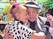 Elderly couple dancing Tango in Buenos Aires