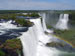 Iguazu Falls  on the border of Argentina and Brazil in Latin America