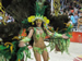 Lovely happy samba dancers at the Carnival