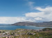 Panoramic view over the Bay and Lake Titicaca