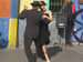 A tango performance on the streets of Buenos Aires