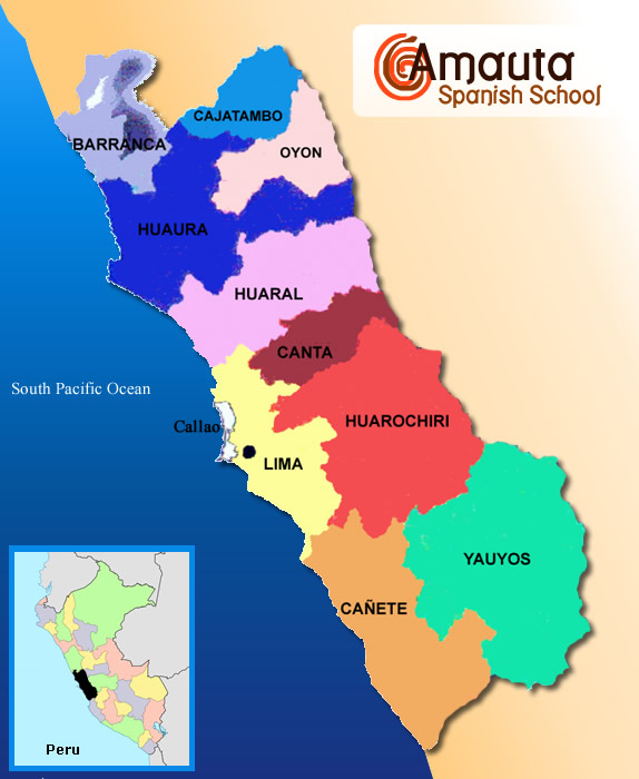 Maps of Peru - Peru Overview