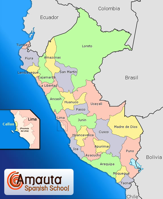 Maps of Peru - Peru Overview
