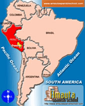 Argentina Maps Amauta Spanish School - South america map in spanish