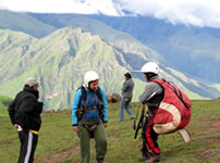 Paragliding in Sacred Valley of Incas