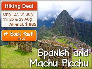 Spanish and Machu Picchu
