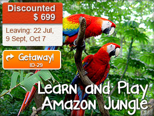 Learn and Play Amazon Jungle