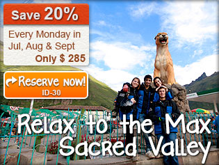 Relax to the Max Sacred Valley